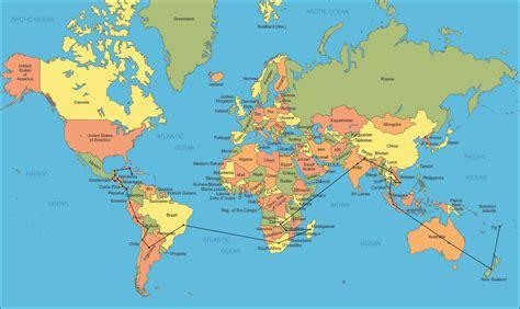 labeled map   world     world