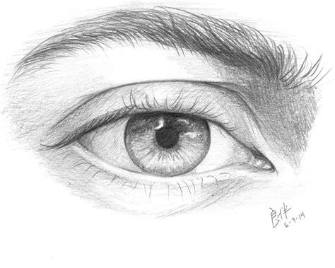 imagenes para dibujar a lapiz ojos ojo a lapiz by dkjohan on deviantart
