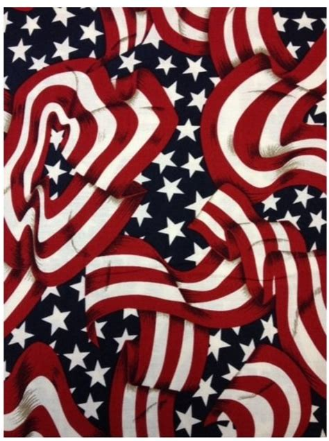 Quilting Fabrics Usa by Usa Flag Patriotic Print Cotton Fabric Quilt Fabric Cs471