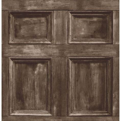 brown paneling buy fine decor wood panel wallpaper chocolate brown