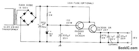 skema transistor 2n3055 fungsi transistor 2n3055 pada power supply 28 images lm317 2n3055 power supply schematic