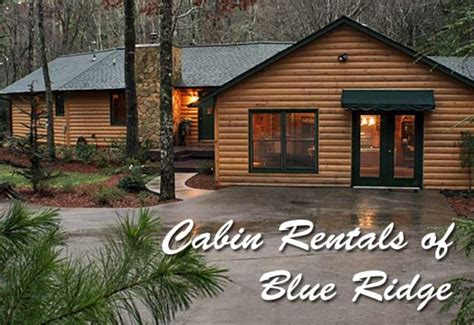 blue ridge cabin rentals accommodations