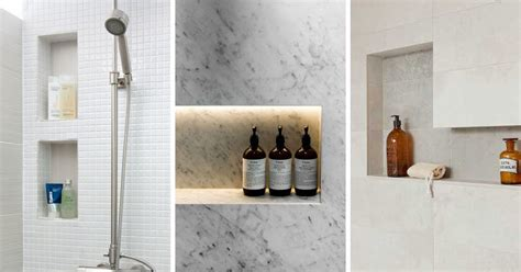 Shower In Wall Shelf by 12 Design Ideas For Including Built In Shelving In Your