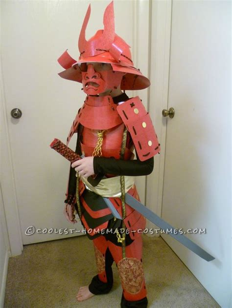 8 Costumes For by Amazing Handmade Samurai Costume And Armor For 8 Year