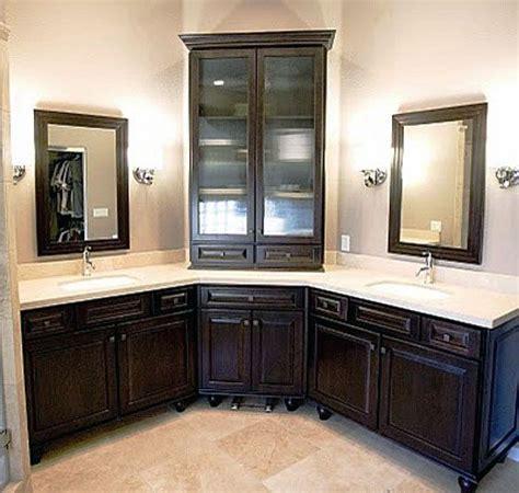 Corner Bathroom Vanity Ideas   Design Decoration