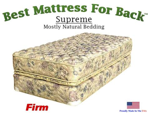 Top Mattresses For Back by Supreme Best Mattress For Back
