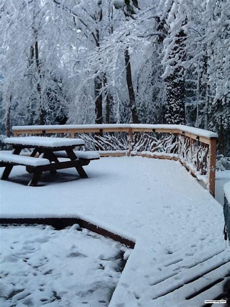 bench snow mountain laurel railing part 2
