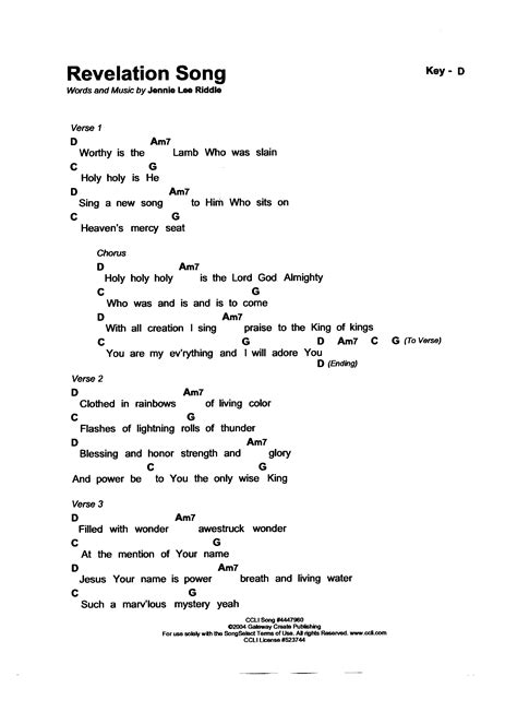 printable lyrics to revelation song amazing grace keyboard sheet music