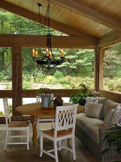 pin mother  screen porch   shady spot