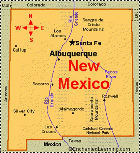 new mexico state information symbols capital new mexico facts map and state symbols