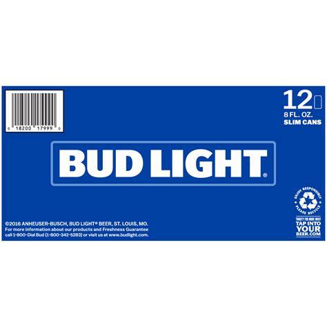 6 Pack Bud Light Bud Light Fl Oz Cans Walmart Com