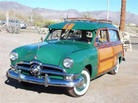 green ford station ford other station wagon 1950 green for sale b0sp113674