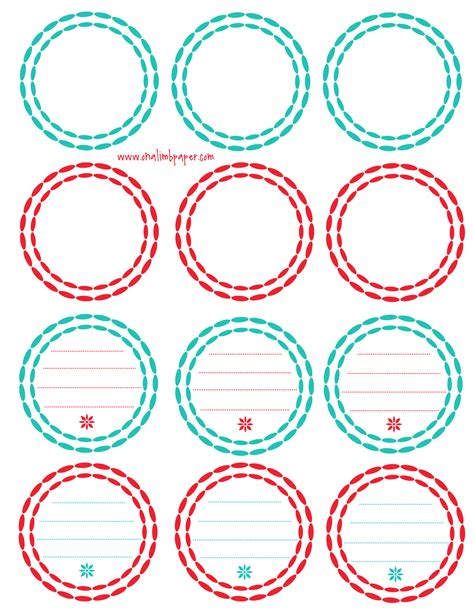 Circle Label Template Free 8 best images of printable labels printable label template free printable