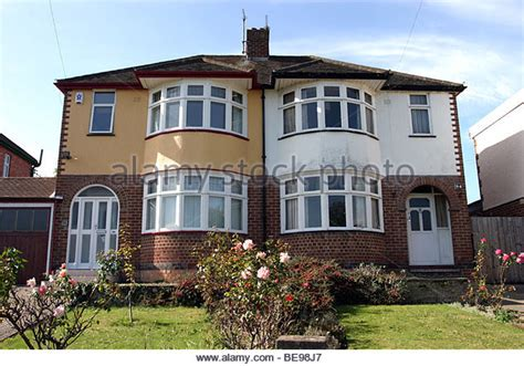 renovated semi detached house 1930s house stock photos 1930s house stock images alamy