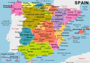 Map If Spain by Map Of Spain Travel Holiday Map Travelquaz Com