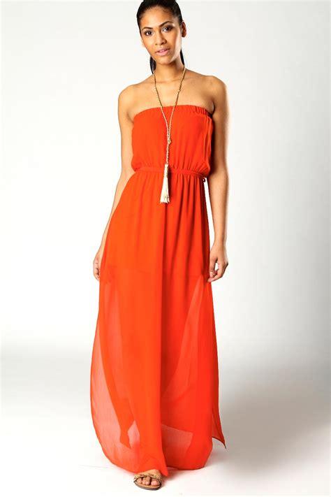 Dresss Orange orange maxi dress the trend of the year fashion gossip