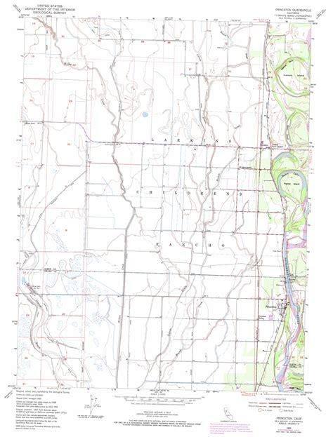 princeton map princeton topographic map ca usgs topo 39122d1
