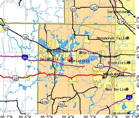 delafield wisconsin wi 53018 53188 profile population