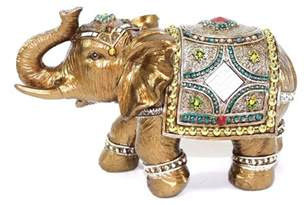 elephant statues for home feng shui 7 quot elephant trunk statue lucky figurine