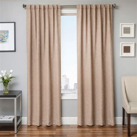 extra wide linen curtains faux linen grommet curtains semiopaque raphael heathered
