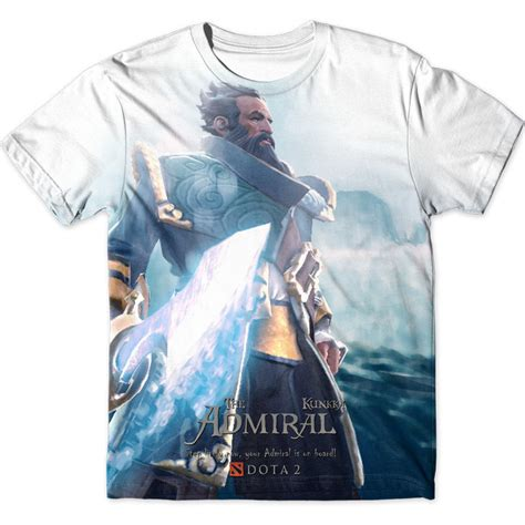 Kaos Dota Graphic 1 kunkka graphic t shirt dota 2 chicken garment