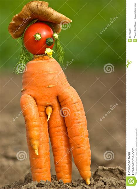 Strange carrot stock image. Image of , juicy, bizarre