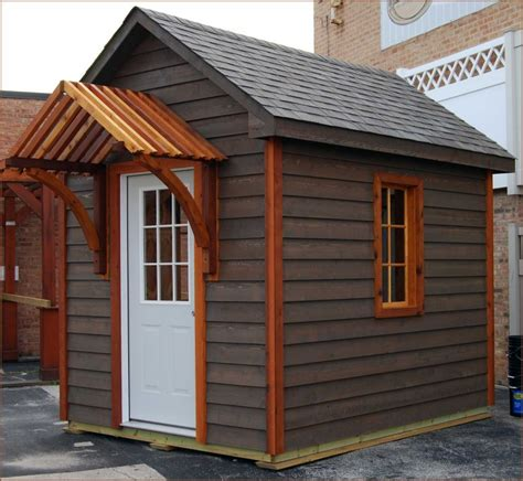 gable awning shed options at fox