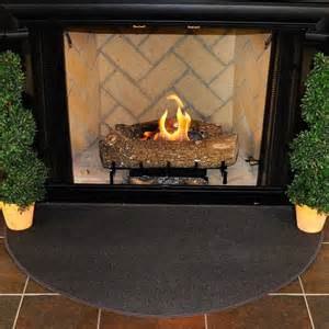 Fireplace Mat by 4 Half Charcoal Guardian Fireplace Rug Northline