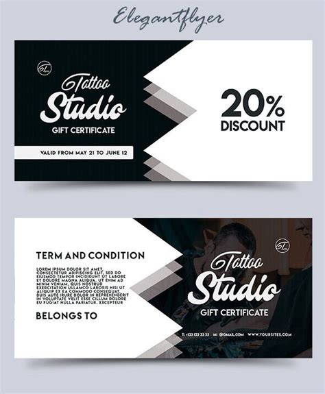 gift card template free psd 30 free psd professional gift certificates templates for