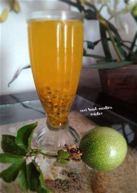 Jus Sirup Markisa Marquisa Juice 68 resep minuman sari buah enak dan sederhana cookpad