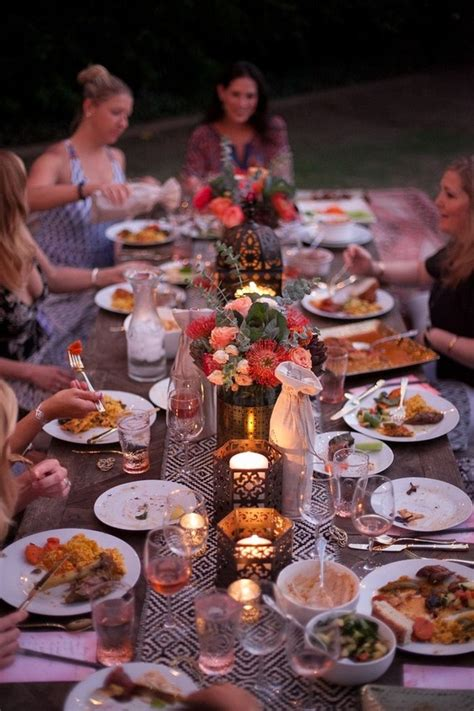 moroccan dinner menu ideas eclectic outdoor dinner wine tasting 100 layer cake