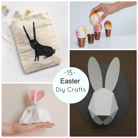 15 easter diy crafts