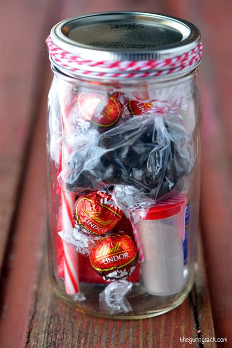 Mason Jar Gifts: Peppermint Mocha Java Jar