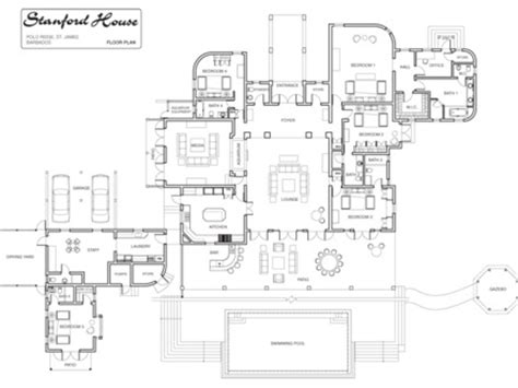 Villa Rustica Floor Plan by Villa Rustica Floor Plan Modern Villa Floor Plans Villa