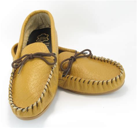 mens size 11 slippers mens leather moccs moccasins slippers shoes brown size