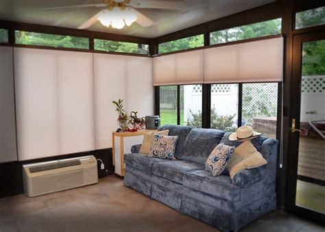 sunroom window coverings sunroom and cellular honeycombs modern window