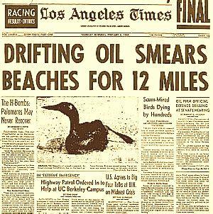 """santa barbara oil spill""1969: california | the pop"