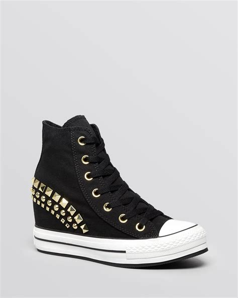 converse wedges sneakers converse lace up high top wedge sneakers all platform