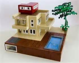 mini mod pod modern lego homes
