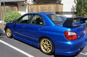 Subaru Sti 2004 2004 Subaru Wrx Sti