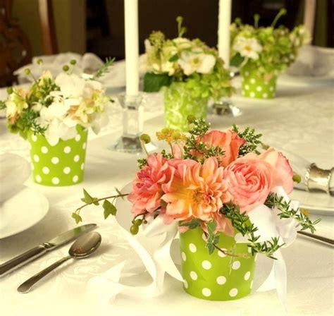 arreglos de mesa para bautizo con flores centros de mesa con flores festejando pinterest