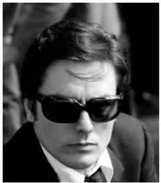 Alain Delon Circle White Original sunglasses on jourdan dunn sunglasses and eyewear