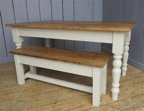 pine bench for kitchen table reclaimed pine farmhouse kitchen table and bench