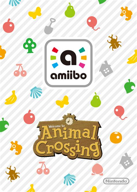 animal crossing amiibo card template image amiibo card animal crossing back png