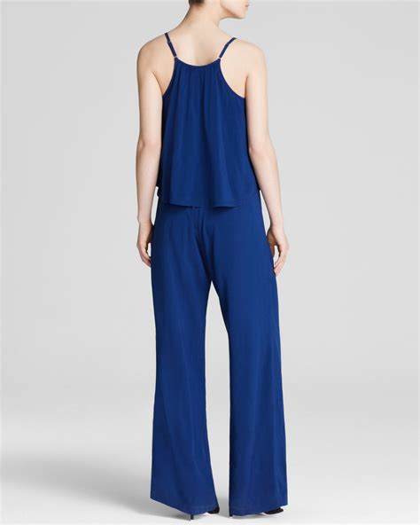 C Jumpsuit C C California C C California Jumpsuit Tiered In Blue Lyst