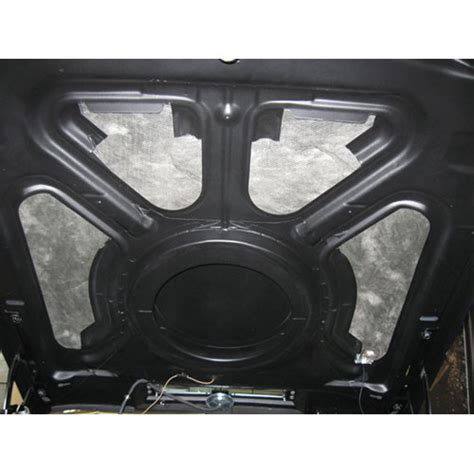 chevelle  hood insulation  cowl induction hood
