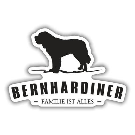 Silhouette Aufkleber Folie by Aufkleber Bernhardiner Silhouette