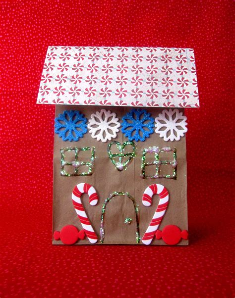 Paper Gingerbread House Craft - gingerbread storytime sturdy for common things