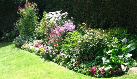 how to design a flower bed perennial garden ideas bing images gardening pinterest