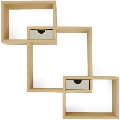 beyond the page mdf wall box shelf